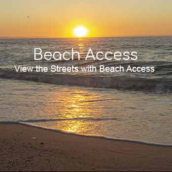 Lavallette Beach Access By Street