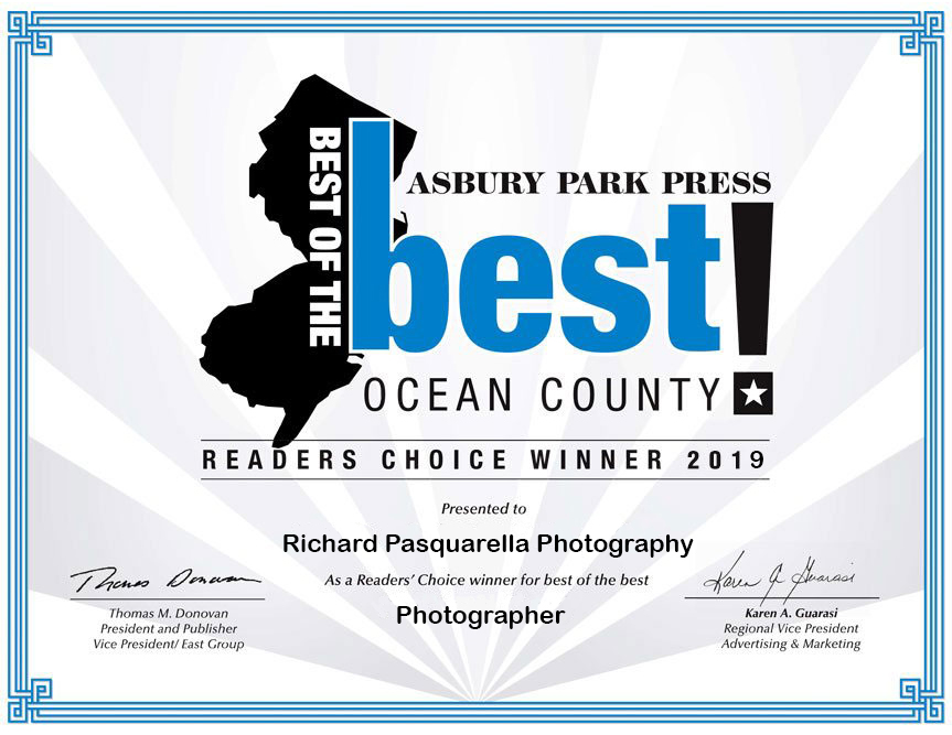 Rich voted The best photographer in ocean county
