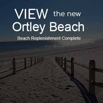Beach Replenishment finished in Ortley Beach