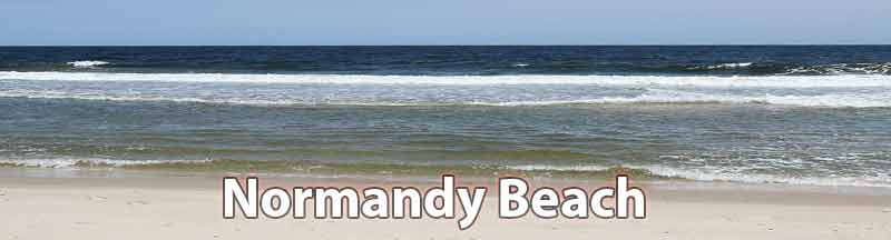 normandy beach summer rentals